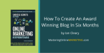 Ian Cleary: How To Create An Award Winning Blog In Six Months