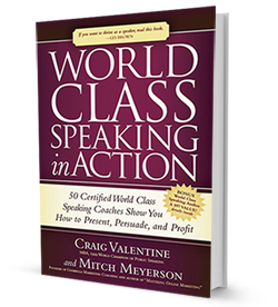 World Class Speaking In Action became an Amazon.com #1 Bestseller.